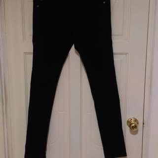 🚚 NET黑色牛仔褲