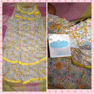 Crib couture terno tops and skirt