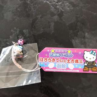 hello kitty限定吊飾