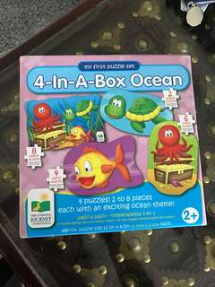 Puzzles toddlers BNIB sealed
