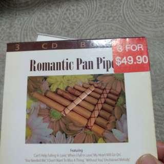 3cd, Romantic Pan Pipes
