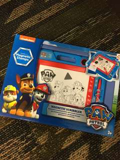Brand new BN paw patrol magnetic drawing board