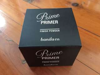 Banila co. ---- Prime Primer Finishing powder NEW