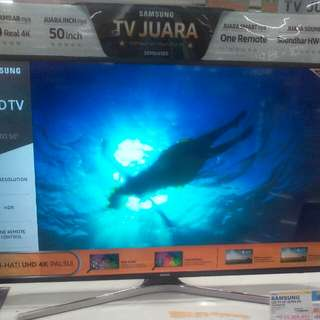 Cicilan TV LED SAMSUNG tanpa kartu kredit proses cepat 3 menit lg promo 0% dan gratis soundbar