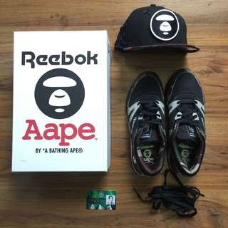 Reebok x AAPE By A Bathing Ape Pack - Ventilators and NE Snapback
