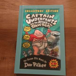 Captain Underpants and the Attack of the Talking Toilets, Collector's Edition.