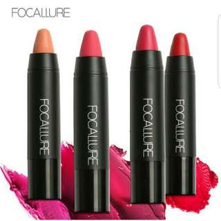 Focallure Ultra Matte Crayon Lipstick