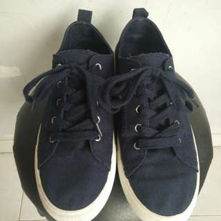 H&M Trainers Shoes Navy