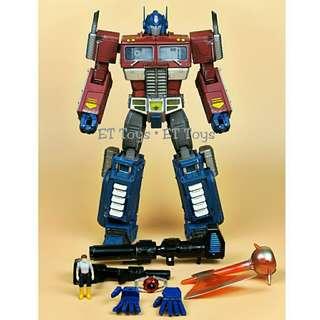 Wei Jiang MPP10Z Optimus Prime Battle Damage Transformers G1 MPP10