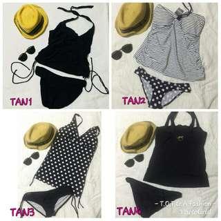 Tankini swimwear overruns