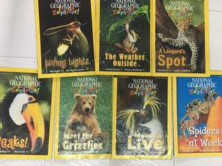 7 copies for $1. (Year Nov/Dec 2010 to Oct 2011) National Geographic Young Explorer!