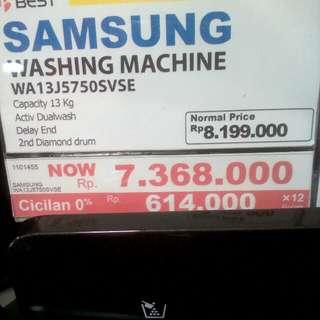 Cicilan mesin cuci SAMSUNG tanpa kartu kredit proses cepat 3 menit lg promo 0%