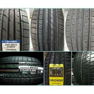 17.18吋輪胎 過季輪胎清倉特賣 限量優惠 裝完為止