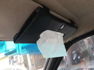 🚚 BMW 面紙盒 真皮面紙盒 遮陽板面紙盒 硬紙盒 衛生紙盒 車門面紙盒 e34 e36 e30 e60 e90 f10