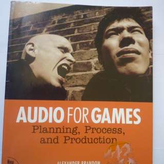 Audio for Games (BOOK)