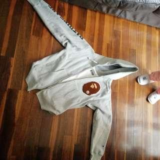 Bape x champion jacket