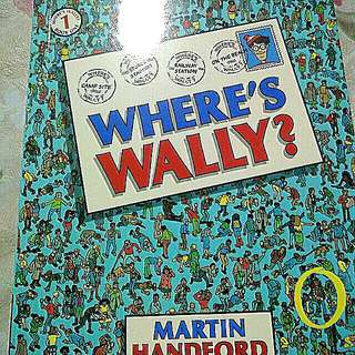 Where's Wally mini Walker book 1 brand new