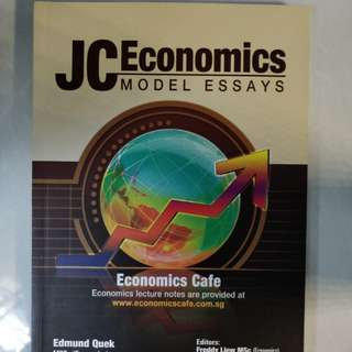 JC Economics Model Essays