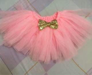 Tutu skirt with bow