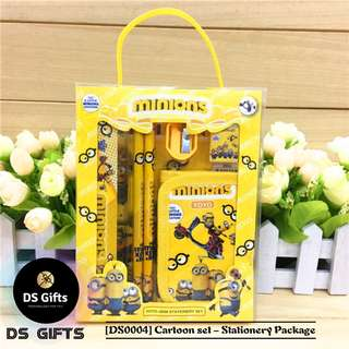 Minions - 6 in 1 Stationary Set