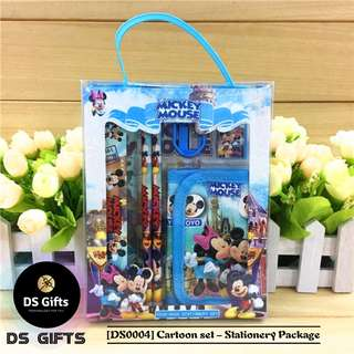 Mickey Mouse - 6 in 1 Stationary Set
