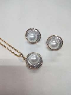 Pearl Set Jewelry COD