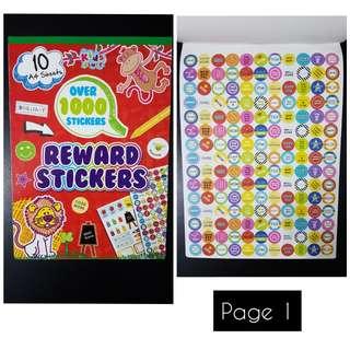 BN Reward Sticker Book (over 1000 stickers)