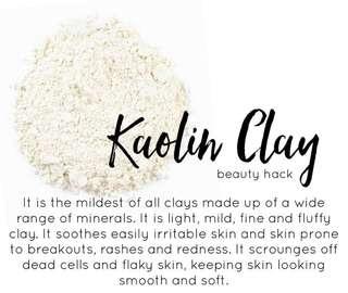 Kaolin Clay 130grams