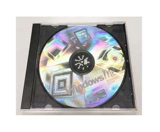 正版 Windows ME 光碟