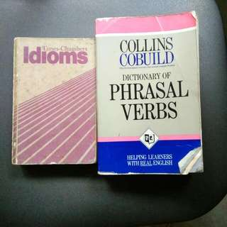 Times-Chambers Idioms (432 Pages) And Dictionary Of Phrasal Verbs (500 Pages)