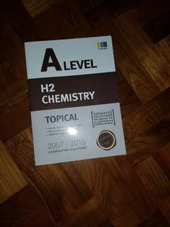 A level chem tys