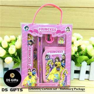 Princesses - 6 in 1 Stationary Set