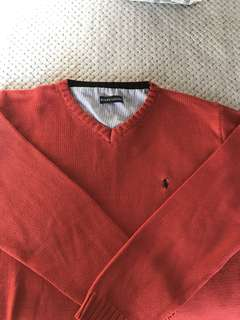 Ralph Lauren knit jumper red