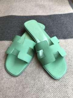 Hermes 拖鞋 Oran size 37