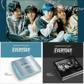 WINNER 2ND ALBUM - EVERYDAY
