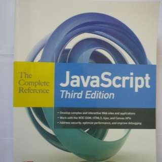 JavaScript -The Complete Reference (BOOK)