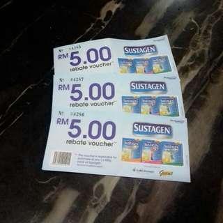 🌹 FREE 🌹 Sustagen Rebate Voucher #baby30
