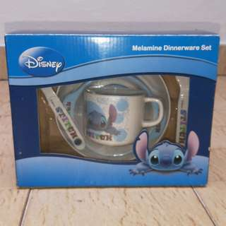 Disney stitch Baby Feeding Set