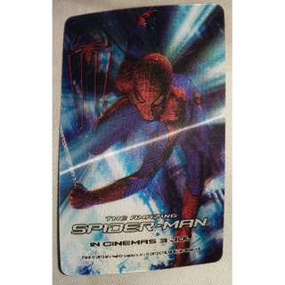 "10 pieces of ""Limited Edition Spiderman EZ-Link Card Sticker Skin"""