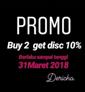 Promo get disc 10%