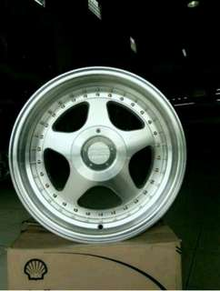 Velg Replika OZ Futura Ring 16 lebar 7,5-8,5 Hole 8 Kredit Tanpa DP
