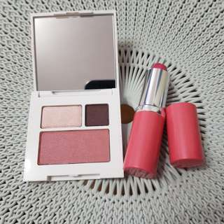 Repriced!! Clinique Eye Shadow and Lipstick Bundle