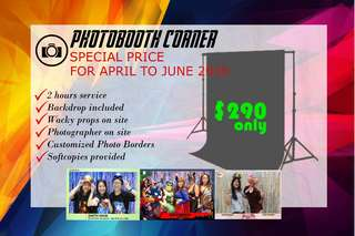 Photobooth Promo Services