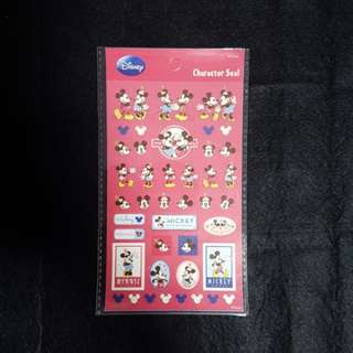 BN Mickey and Minnie Stickers