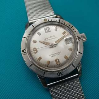 Vintage Bulova 666ft Diver Watches 古董潛水手錶