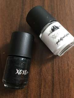 Face 2 Face xoxo Peel Off Nail Polish