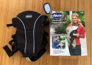 Chicco Ultrasoft 2 Way Baby Carrier (slightly used)
