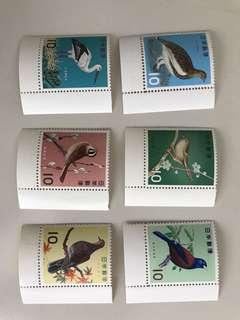 日本郵票6枚