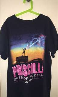 Vintage Pricilla queen of the dessert oversized Tshirt