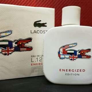 Lacoste energized for men